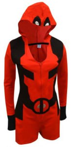 Deadpool Romper Hooded Onesie