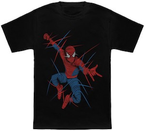 Lined Spider-Man T-Shirt