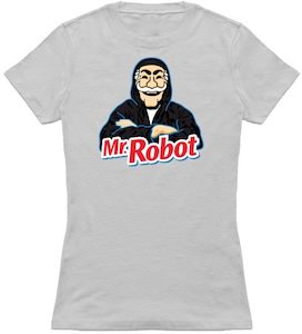 Mr. Robot In Hoodie T-Shirt
