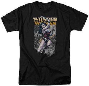Wonder Woman Battle T-Shirt