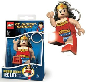 Wonder Woman LEGO LED Key Chain