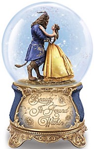 Musical Beauty And The Beast Snow Globe