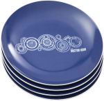 Doctor Who Blue Plates