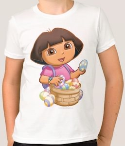 Dora Easter Egg Collecting T-Shirt