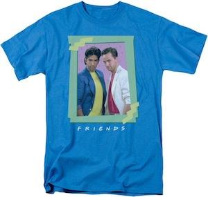Friend Ross And Chandler T-Shirt