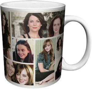 Gilmore Girls Photo Collage Mug