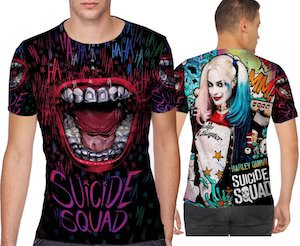 Suicide Squad The Joker And Harley Quinn T-Shirt