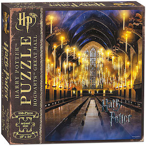 Hogwarts The Great Hall Jigsaw Puzzle