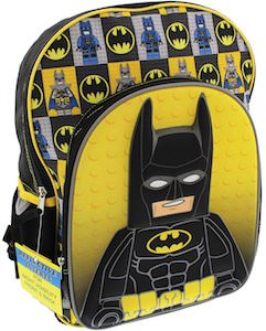 The LEGO Batman Backpack