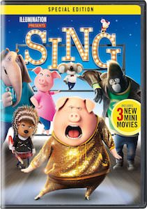 Sing Special Edition DVD Or Blu-Ray