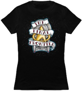 Star Trek The Final Frontier Banner T-Shirt