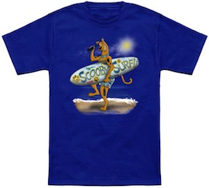 Scooby-Doo Going Surfing T-Shirt