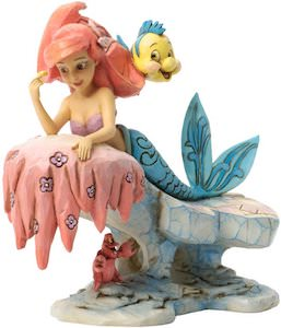 Ariel The Little Mermaid Stone Resin Figurine