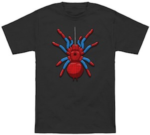 Spider-Man T-Shirt With A Giant Spider On It