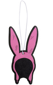 Bob's Burgers Louise rabbit ear hat air freshener