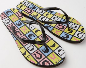 Belcher Family Flip Flops