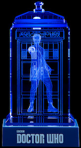 Doctor Who Crystal Tardis
