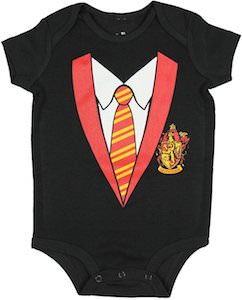 Hogwarts School Uniform Baby Bodysuit