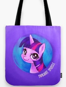Twilight Sparkle Tote Bag