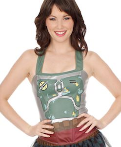 Star Wars Boba Fett Corset Top