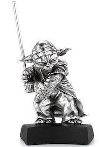 Pewter Yoda Figurine