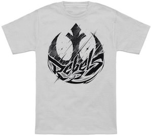 Star Wars Tattoo Style Rebels Logo T-Shirt