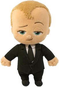 The Boss Baby Plush Wearing A Suit