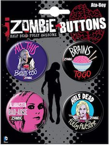 iZombie Button Set