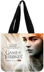 Game of Thrones Daenerys Targaryen tote bag