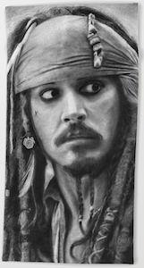Jack Sparrow Beach Towel