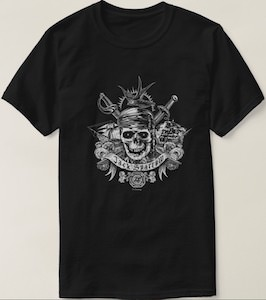 Pirates Of The Caribbean Jack Sparrow Skull T-Shirt