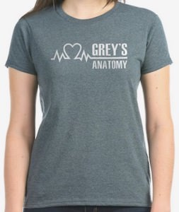 Heart Grey's Anatomy T-Shirt