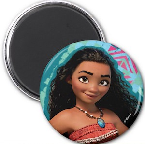 Moana Fridge Magnet