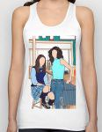 Gilmore Girls Rory And Lorelai At Luke's Diner Tank Top