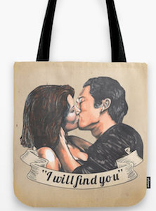 Maggie And Glenn I Will Find You Tote Bag