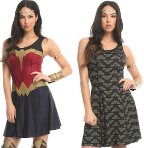 DC Comics Wonder Woman Reversible Dress