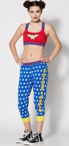 DC Comics Wonder Woman Sports Bra And Jogger Pants