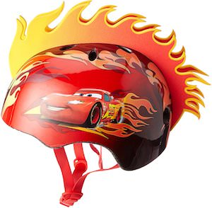 Lightning McQueen Flame Helmet