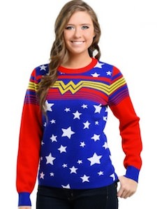Wonder Woman Logo Sweater