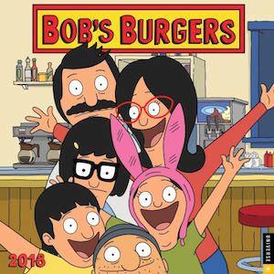 Bob's Burgers Wall Calendar 2018
