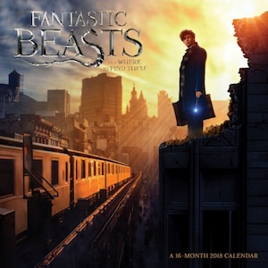 2018 Fantastic Beasts and Where to Find Them Wall Calendar