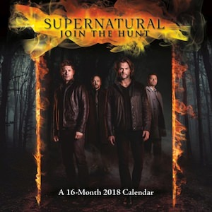 2018 Supernatural Wall Calendar