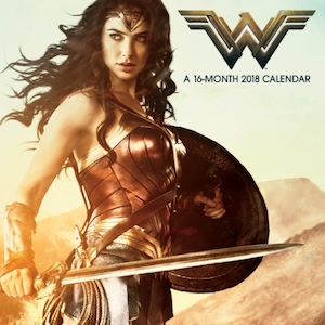 DC Comics 2018 Wonder Woman Wall Calendar