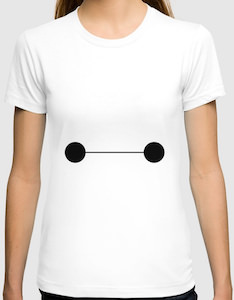 Baymax Face T-Shirt