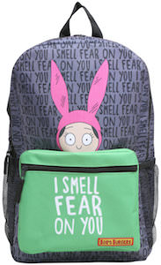 Louise I Smell Fear On Your Backpack