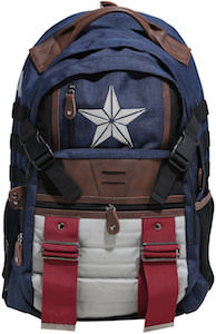 Canvas Captain America Backpack