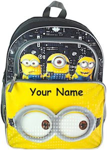 Despicable Me 3 Personalized Minion Backpack