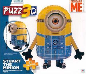 Minion Stuart 3D Puzzle