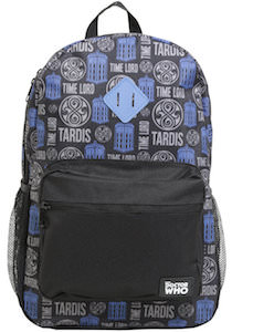 Doctor Who Tardis Time Lord Backpack