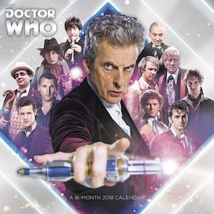 Doctor Who Wall Calendar 2018